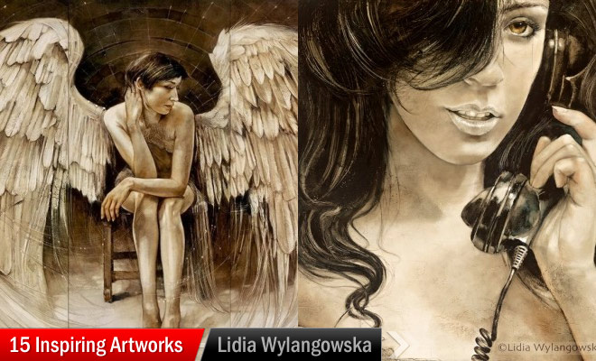 Artworks by Lidia Wylangowska