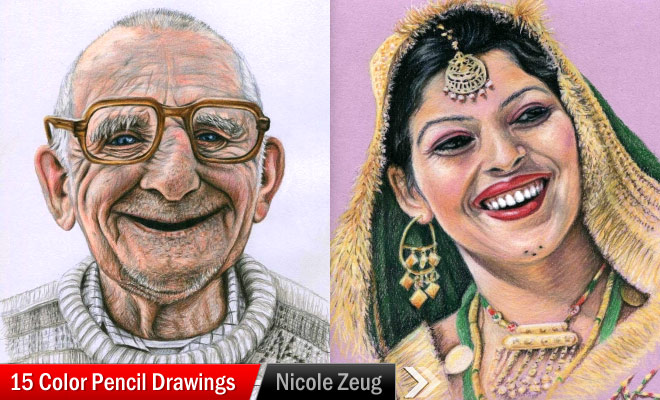 Color Pencil Drawings by Nicole Zeug