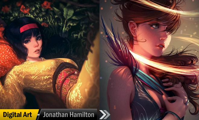 Digital Art Jonathan Hamilton