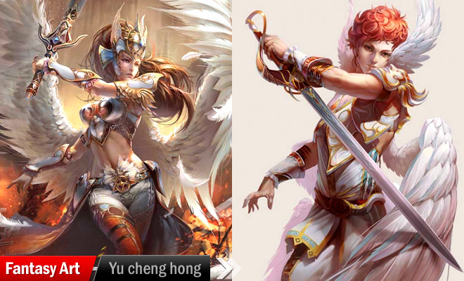 Fantasy Art by yu cheng hong