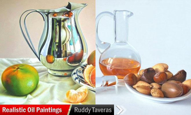 Photo Realistic Oil Paintings by Ruddy Taveras