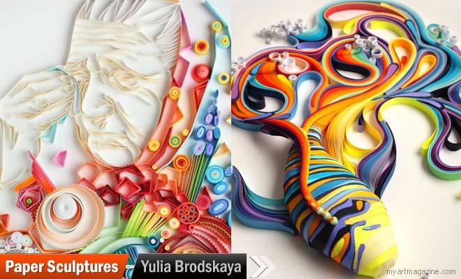 Paper Sculptures Yulia Brodskaya
