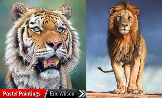 Pastel Paintings Eric Wilson