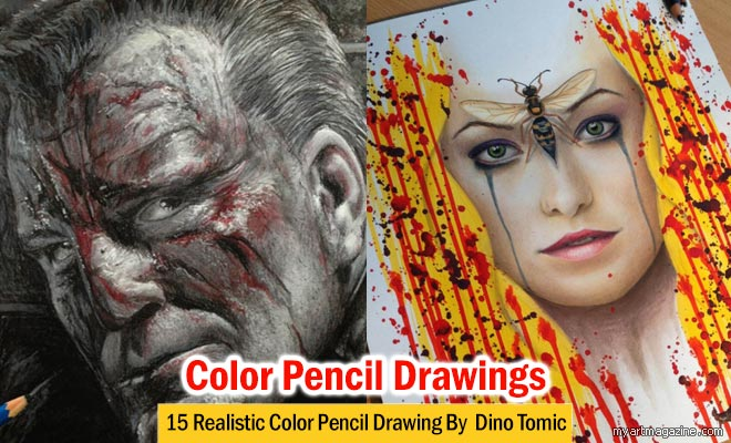 Color Pencil Drawings by Dino Tomic