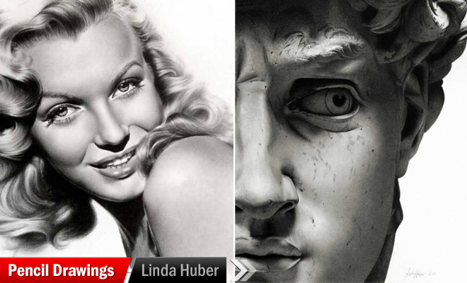 Pencil Drawings by Linda Huber