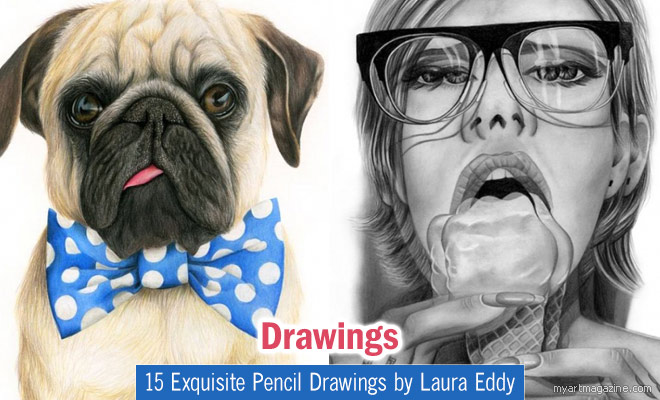 Color Pencil Drawings by Laura Eddy