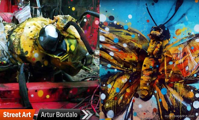 Street Art by Artur Bordalo