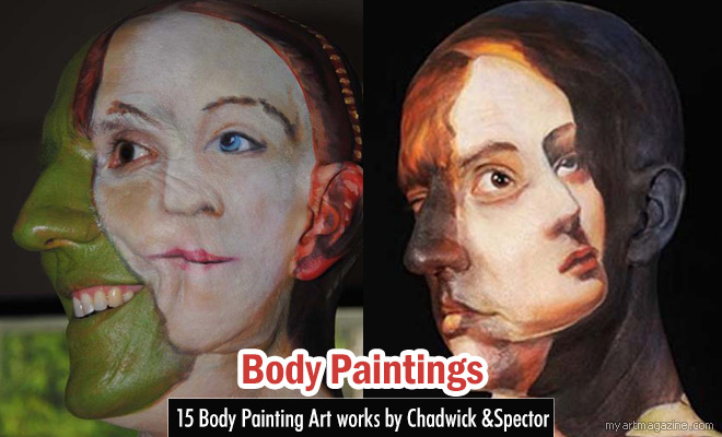 Body Paintings Art by Chadwick