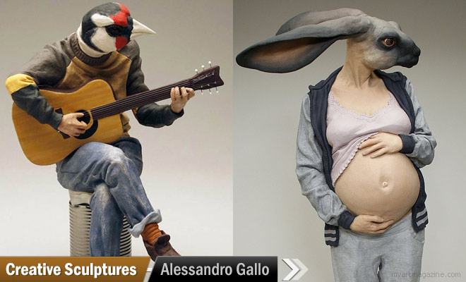 Creative Sculptures by Alessandro Gallo