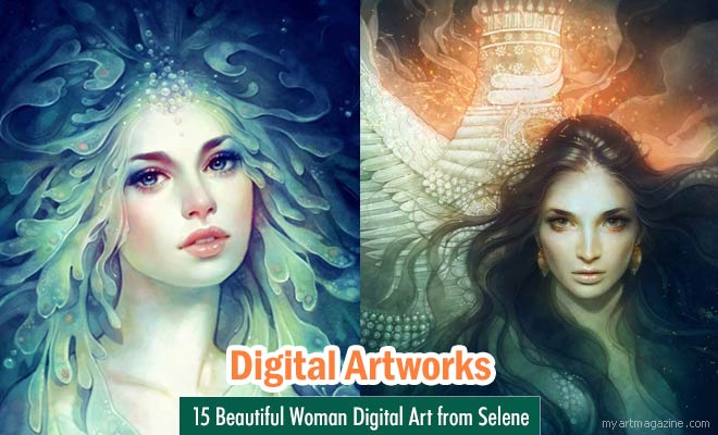 Digital Art works by Selene