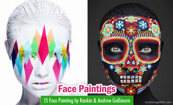 Face Painting by Rankin & Andrew Gallimore