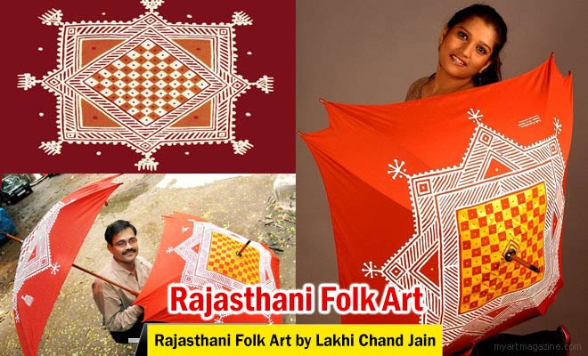 Rajasthani Folk Art by Lakhi Chand Jain
