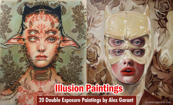 Illusion Paintings by Alex Garant
