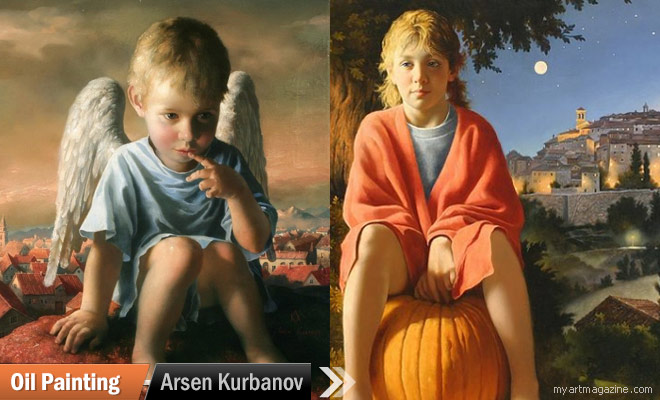 Oil Paintings by Arsen Kurbanov