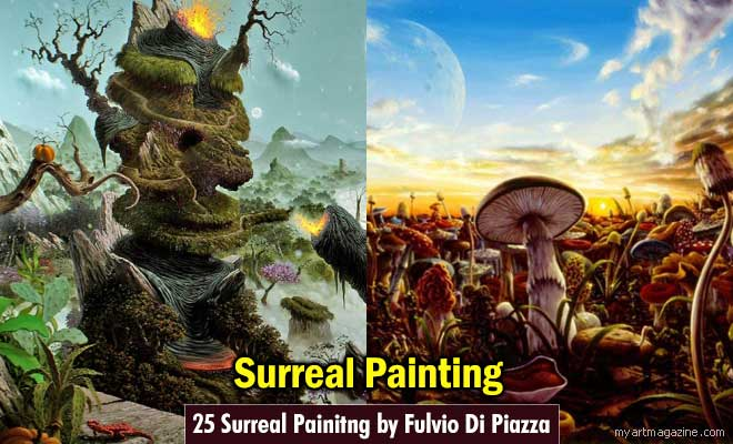 Surreal Painitng by Fulvio Di Piazza