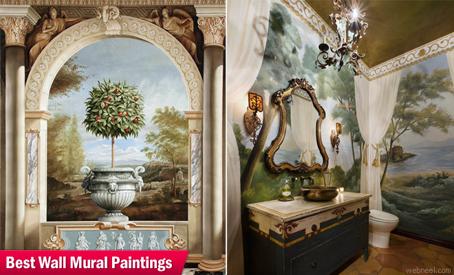How To Paint A Wall Mural 25 beautiful wall mural paintings from top artisits around the world