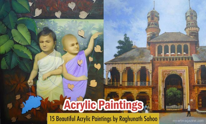 Acrylic Paintings by Raghunath Sahoo