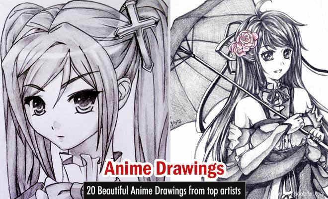 Anime drawings