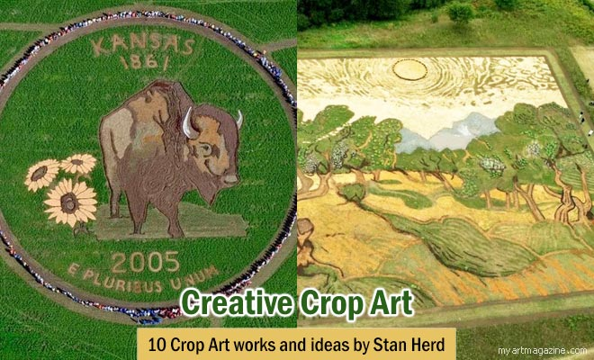 woman creative art ideas by stan herd