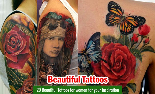 color flowers tattoos women grimmy