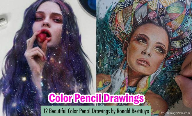 Color Pencil Drawings by Ronald Restituyo