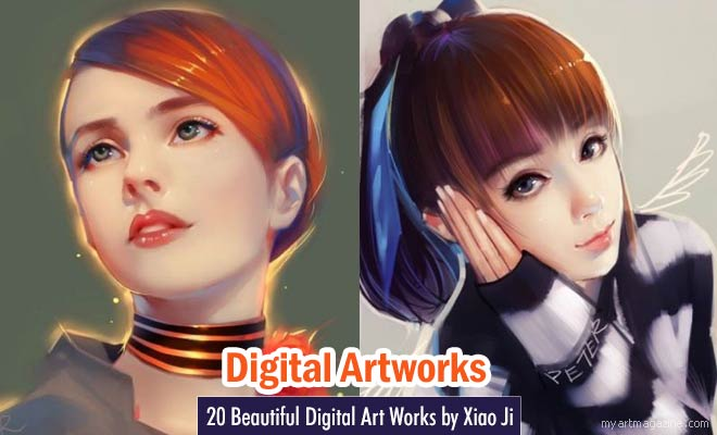Digital Art Paintings by Xiao Ji