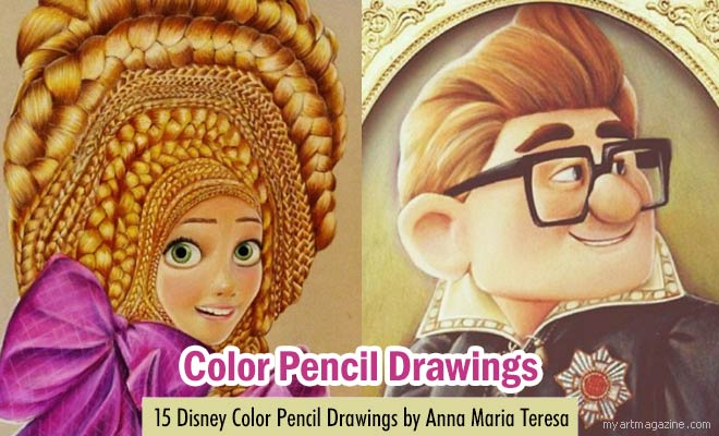 Disney Drawings by Anna Maria Teresa