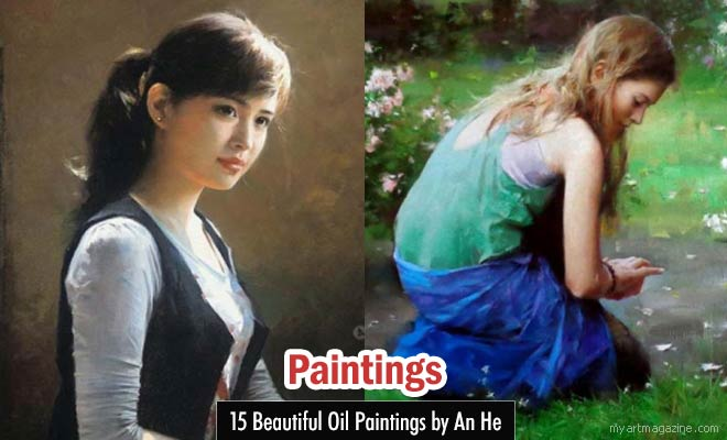 Oil Paintings by An He
