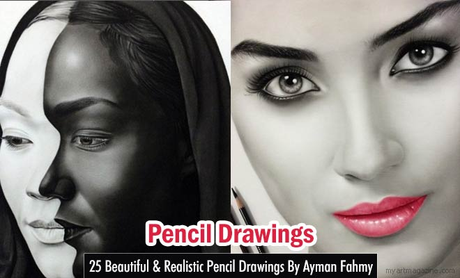 Pencil Drawings by Ayman Fahmy