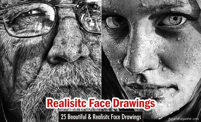 realistic face drawings by chaseroflight