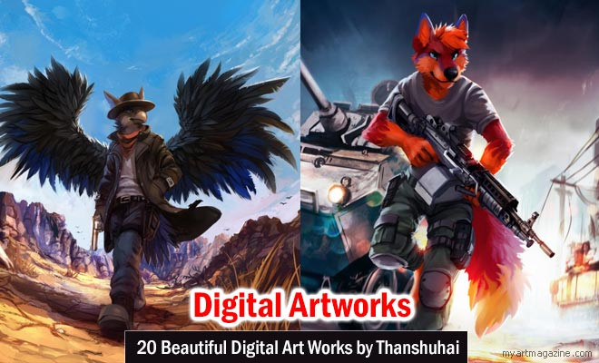 Digital Art Works by Thanshuhai