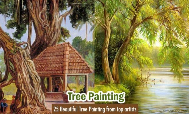 nature tree painting