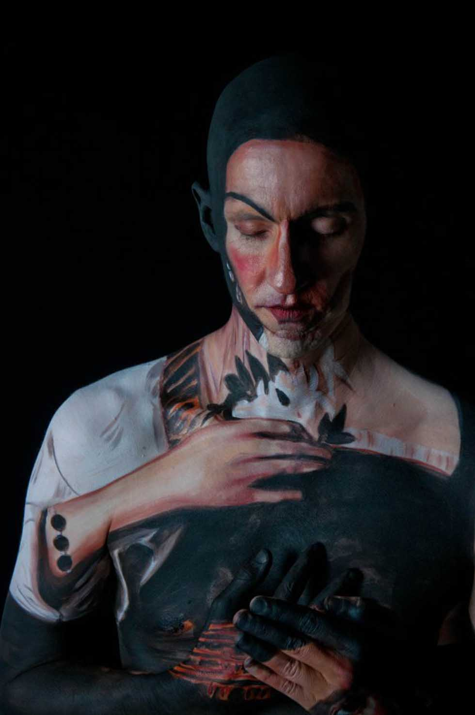 body painting chadwick