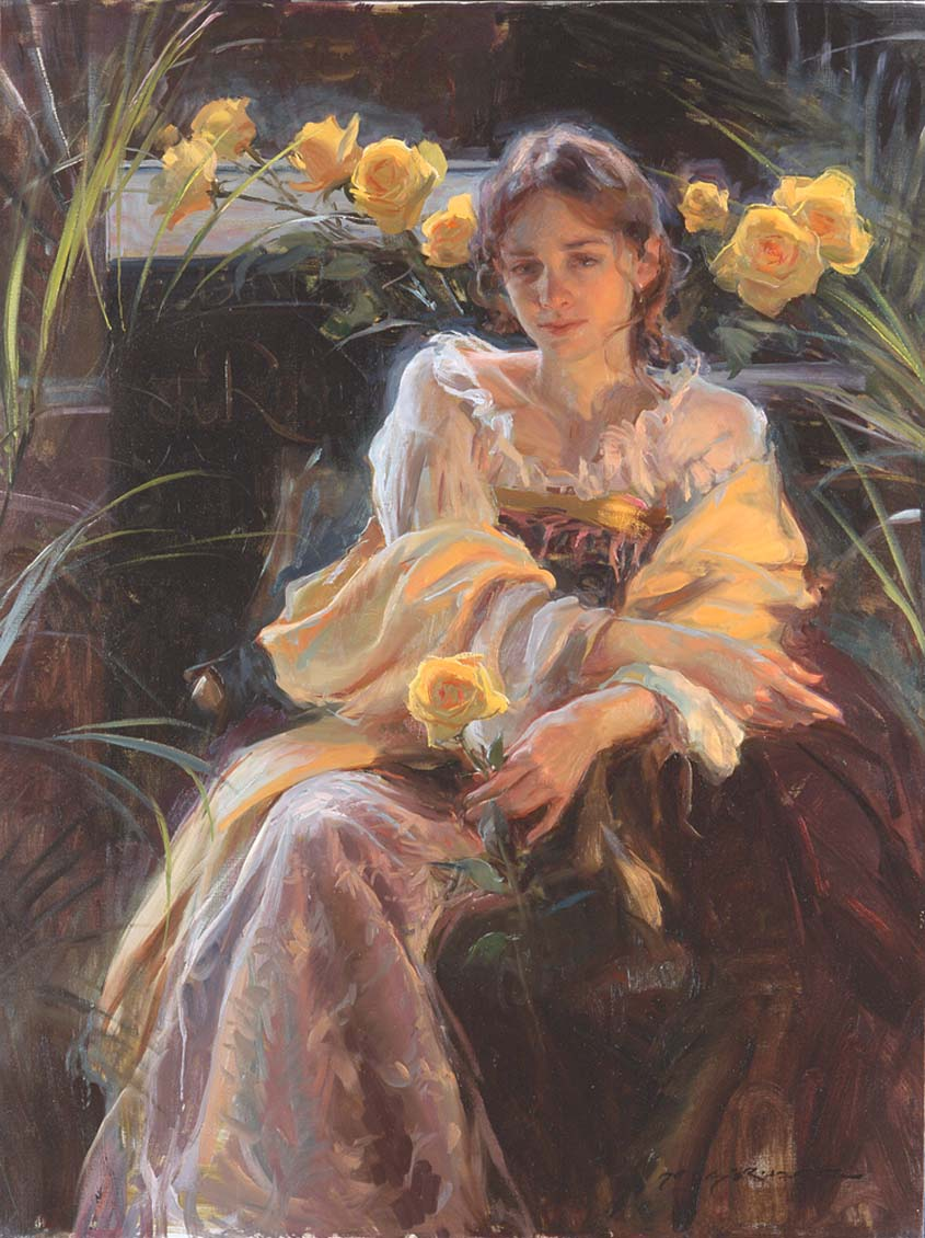 oil painting daniel