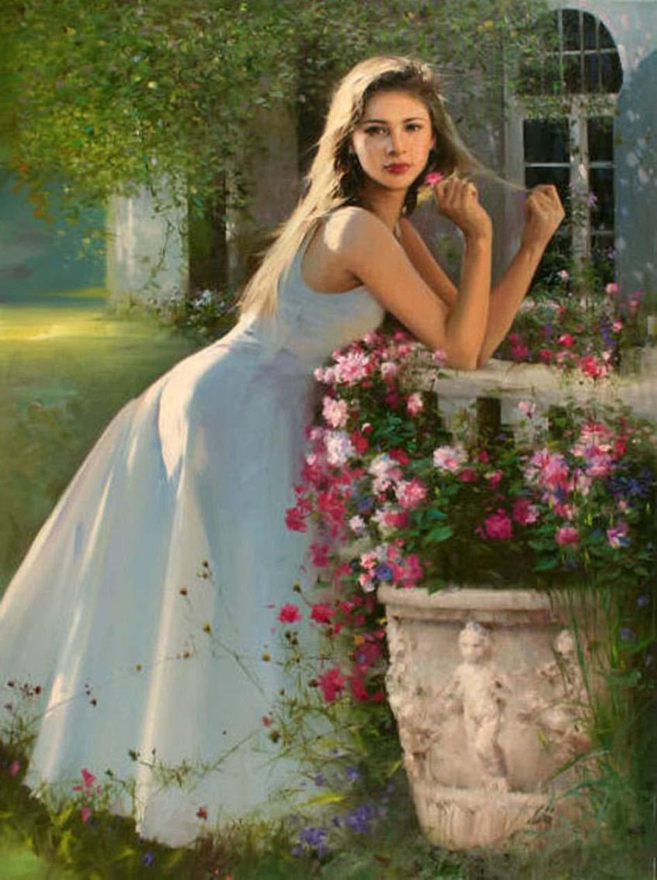 oil paintings he
