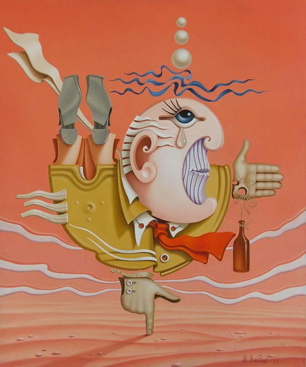 surreal painting lyamkin