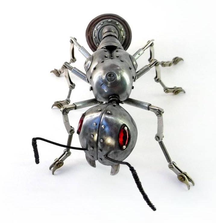 big ant scrap sculptures igor