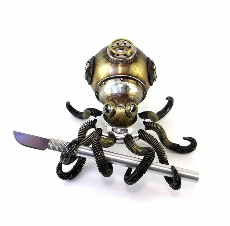 octopuss scrap sculptures igor