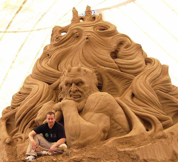 sand sculpture ray villafane 4