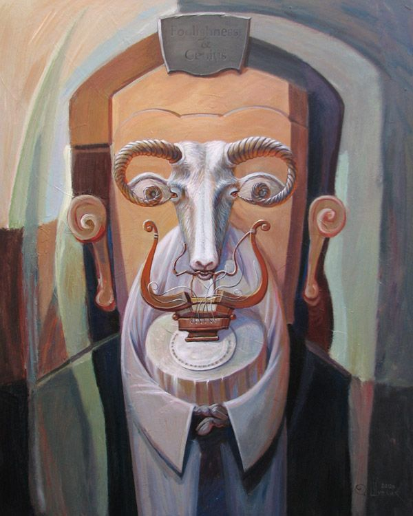 19 illusion oil painting by oleg shuplyak