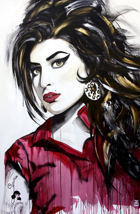 amy winehouse painting emma sheldrake