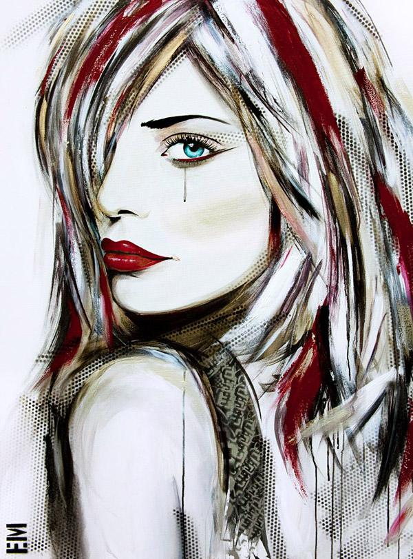 girl painting emma sheldrake