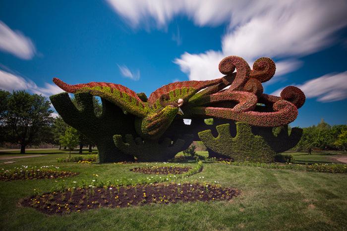 1 garden sculpture