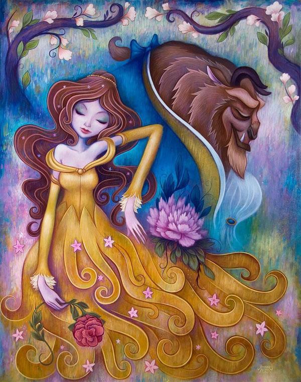 beautiful girl paintings jeremiah