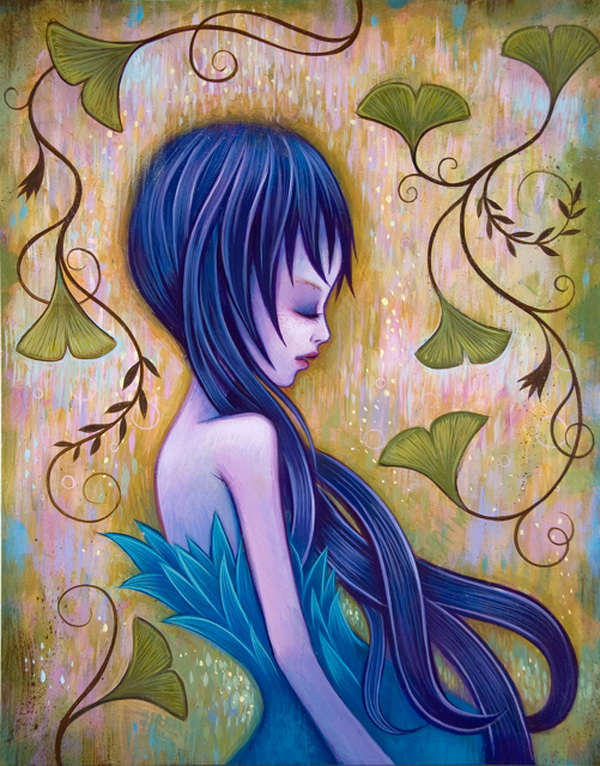 cute girl paintings jeremiah