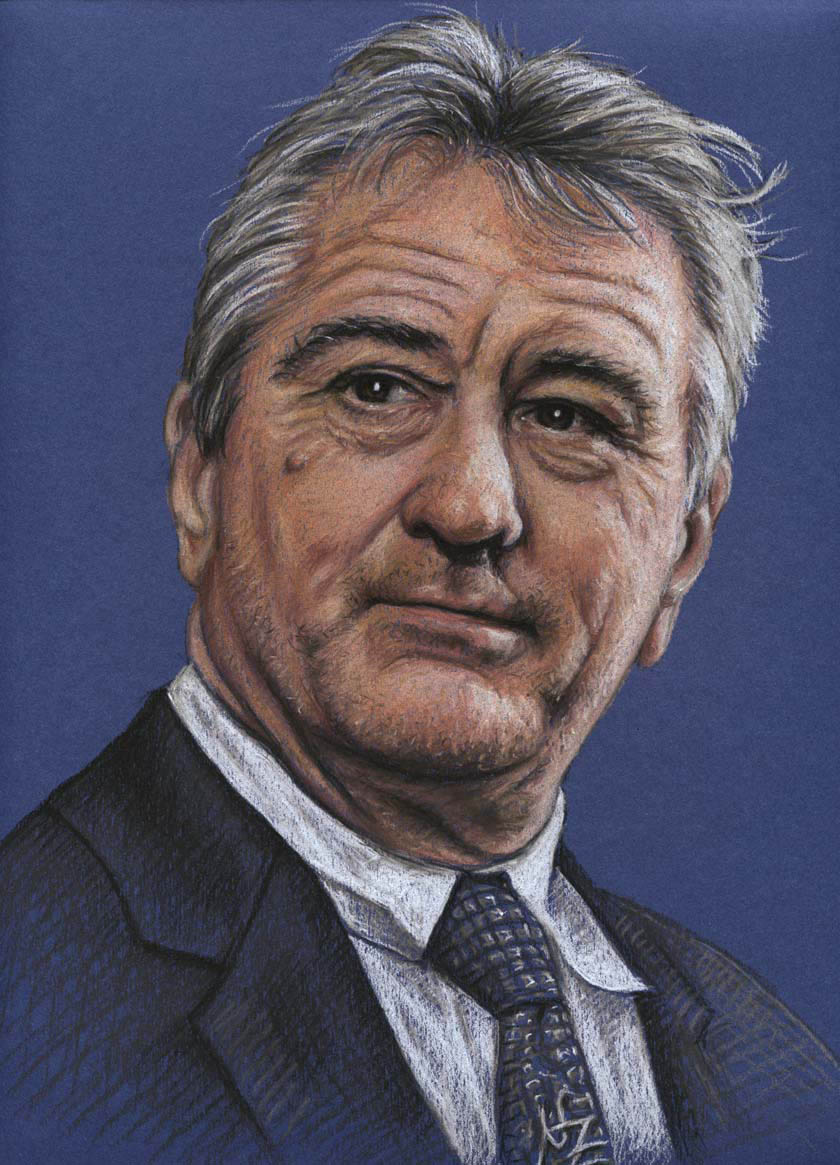 deniro color pencil drawing nicole