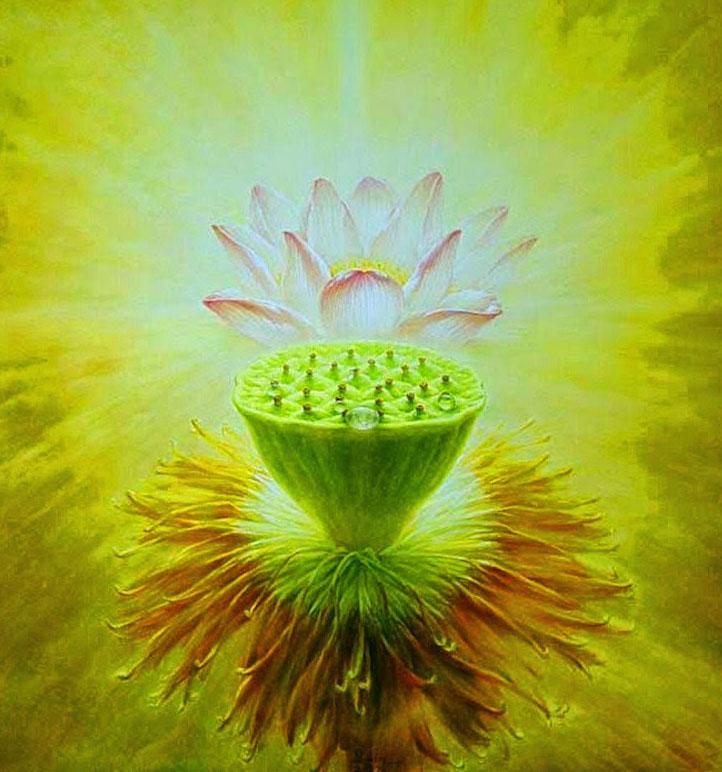 lotus painting jiang