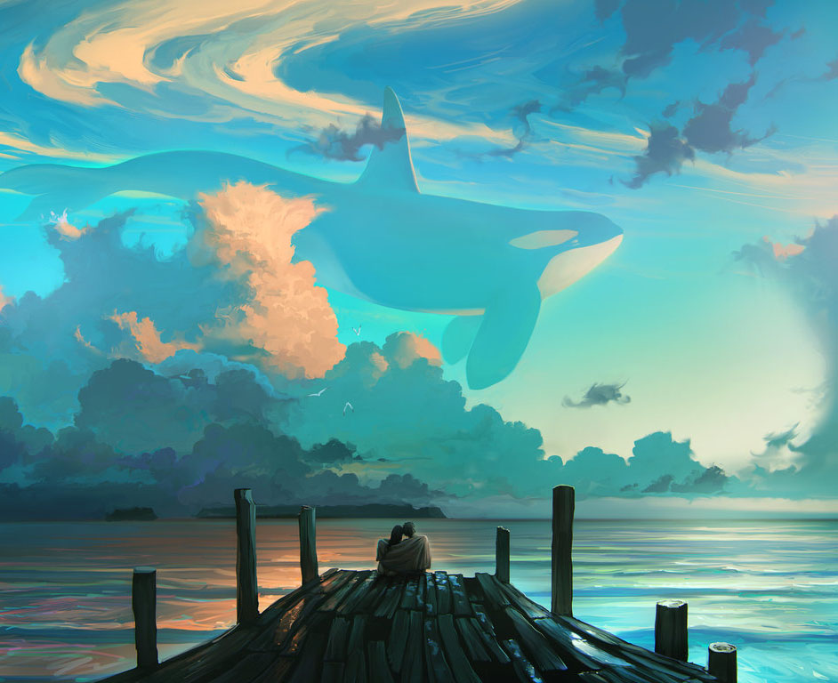 sky dreamers digital painting rhads