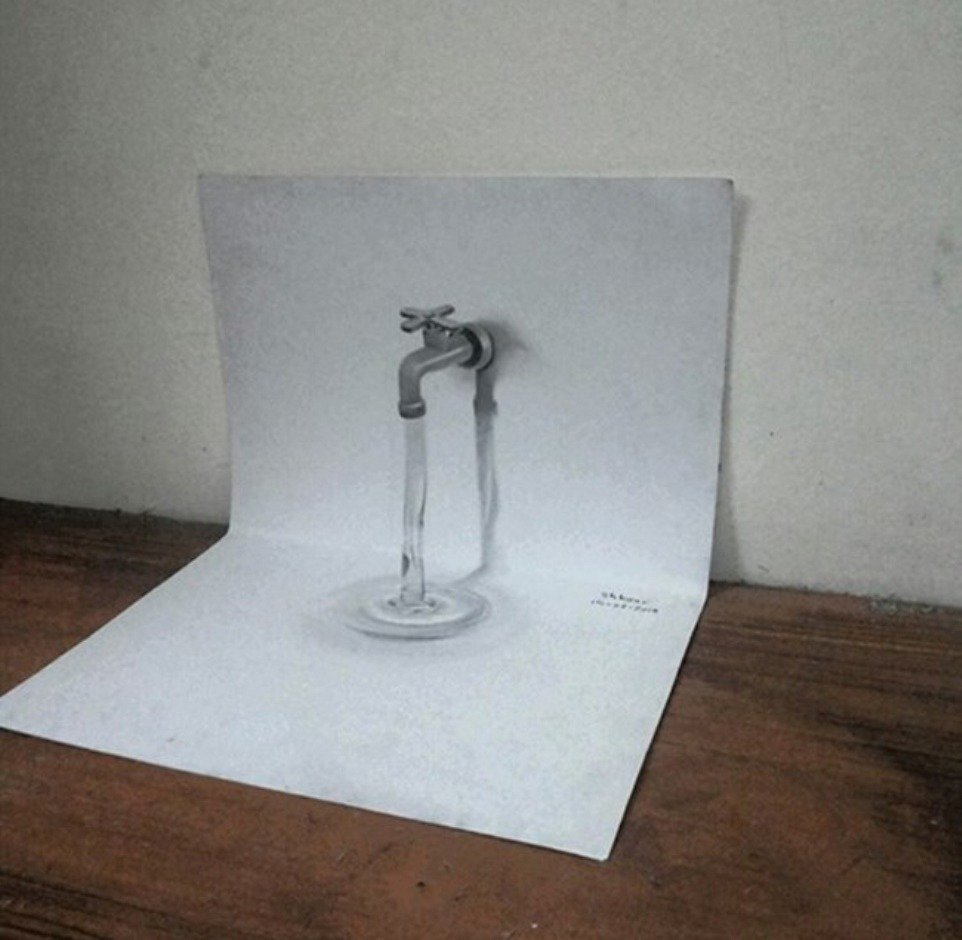 Tap 3d pencil drawing md shkour