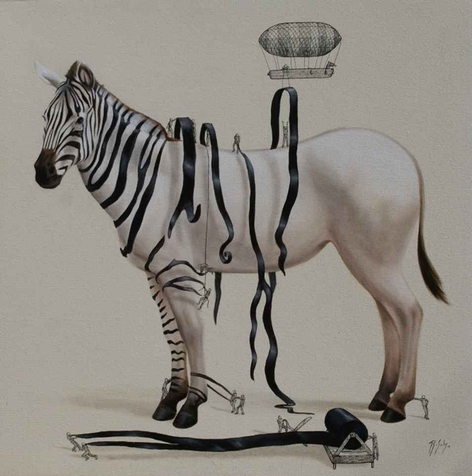zebra illustration ricardo solis